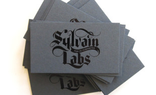 Cool Letterpress Business Cards – Sylvain Labs