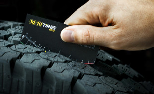 Creative Business Card - 1010 Tires