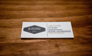 Unique Business Cards - Blackbox Case