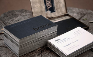 Cool Business Card - Bratus