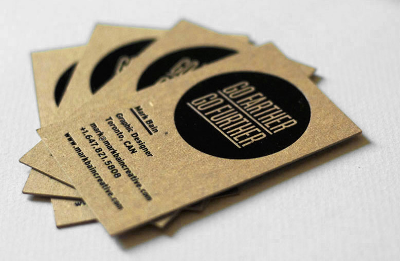 Cool letterpress business card leo pia by kraft cardrabbit cool letterpress business cards mark bain colourmoves Gallery