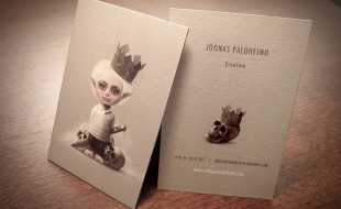 Unique Business Card Design – Joonas Paloheimo