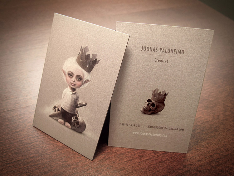 Unique Business Card Design - Joonas Paloheimo