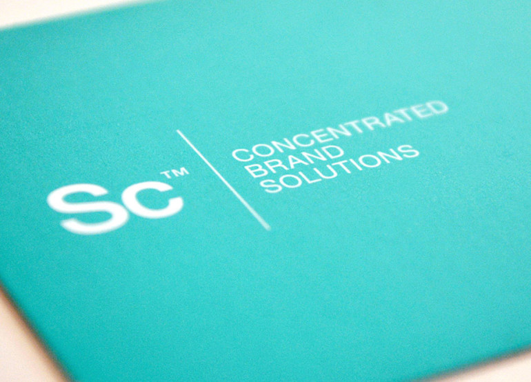 Business Card with Rounded Corners - Science