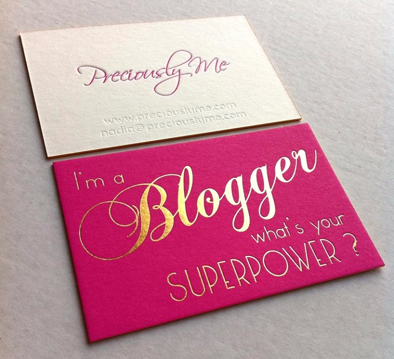 Best Business Cards For Bloggers Ideas - Business Card Ideas ...