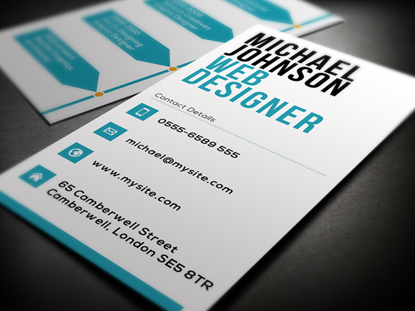 Business Card Template For Web Designers CardRabbitcom - Web design business cards templates