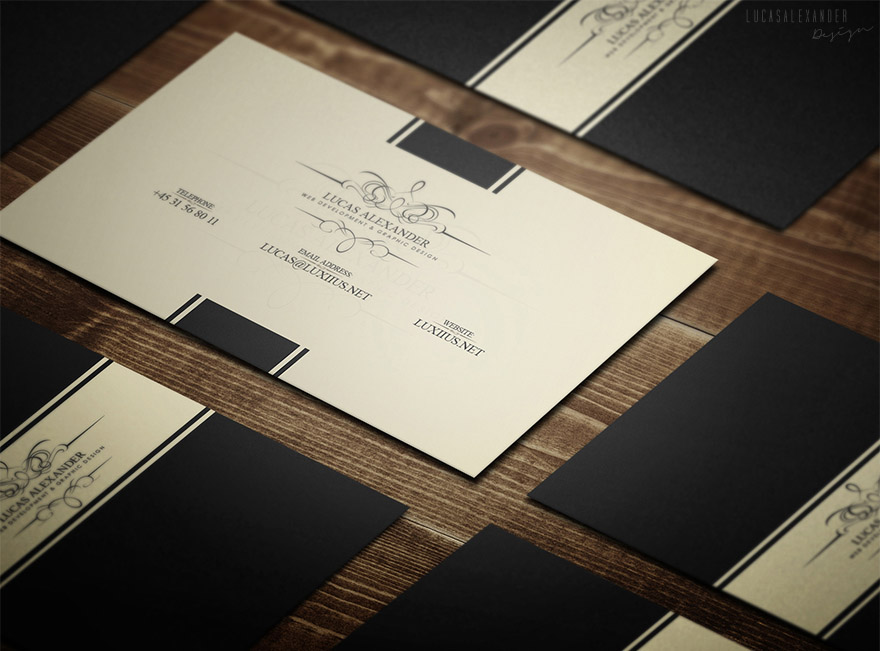 Classy business card template cardrabbit reheart Choice Image