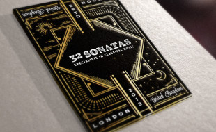 Unique Business Card - 32 Sonatas