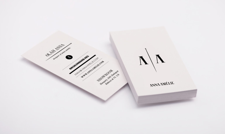 Black&White Business Cards - Anna Amelie