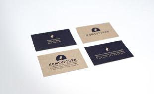 Custom Business Card - Komsufirin