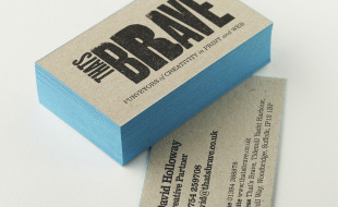 Cool Business Cards - Thats Brave