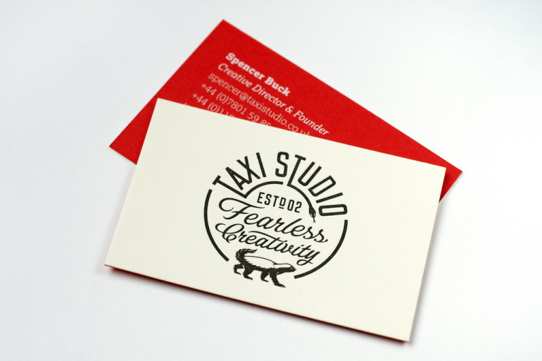 Custom Business Card – Taxi Studio