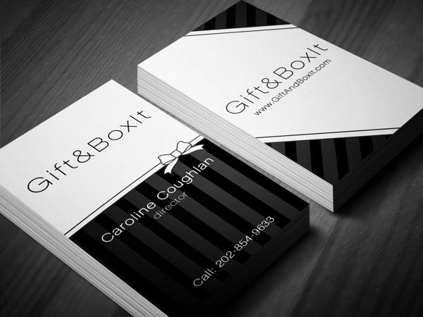 Custom Business Card Design - Gift&Boxit