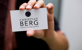Custom Business Card - Christian Berg Photography