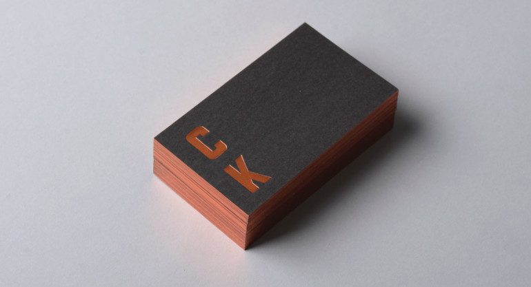 Cool Minimalistic Business Cards - Claire Kneebone