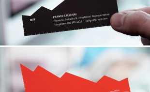 Unique Financial Advisor Business Card - Franco Caligiuri