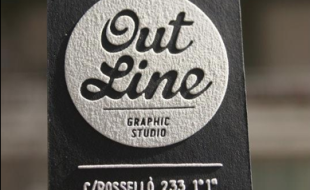 cool letterpress business card with screen printing variations - Screen Printing Business Cards