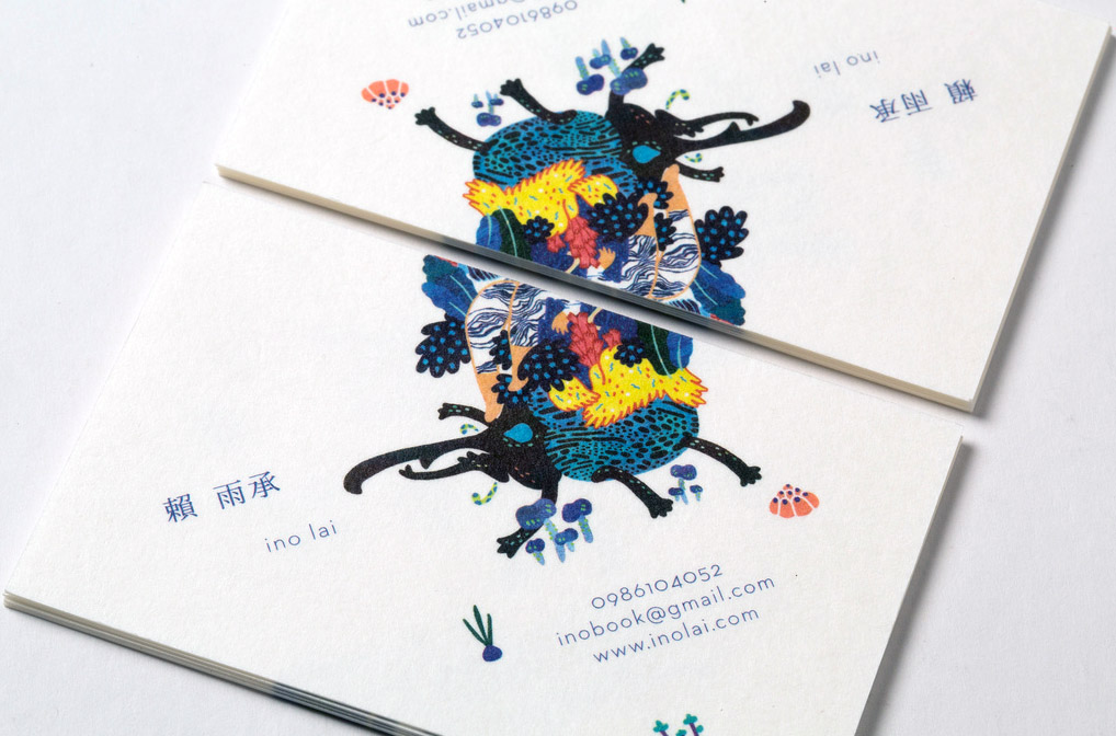 Creative Business Cards Illustrator Gallery - Card Design And Card ...