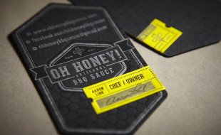 Unique Business Card - Oh Honey