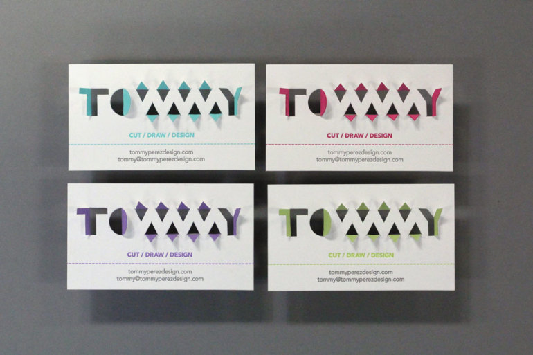 Creative Business Cards - Tommy Perez 2