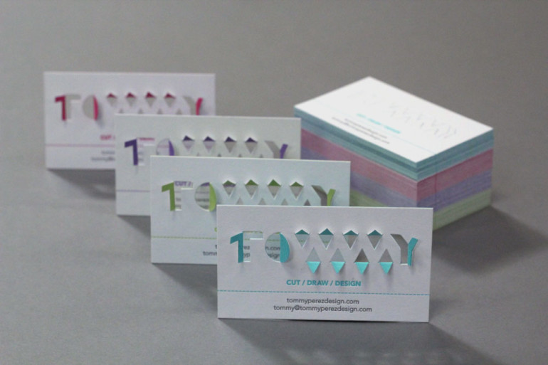 Creative Business Cards - Tommy Perez