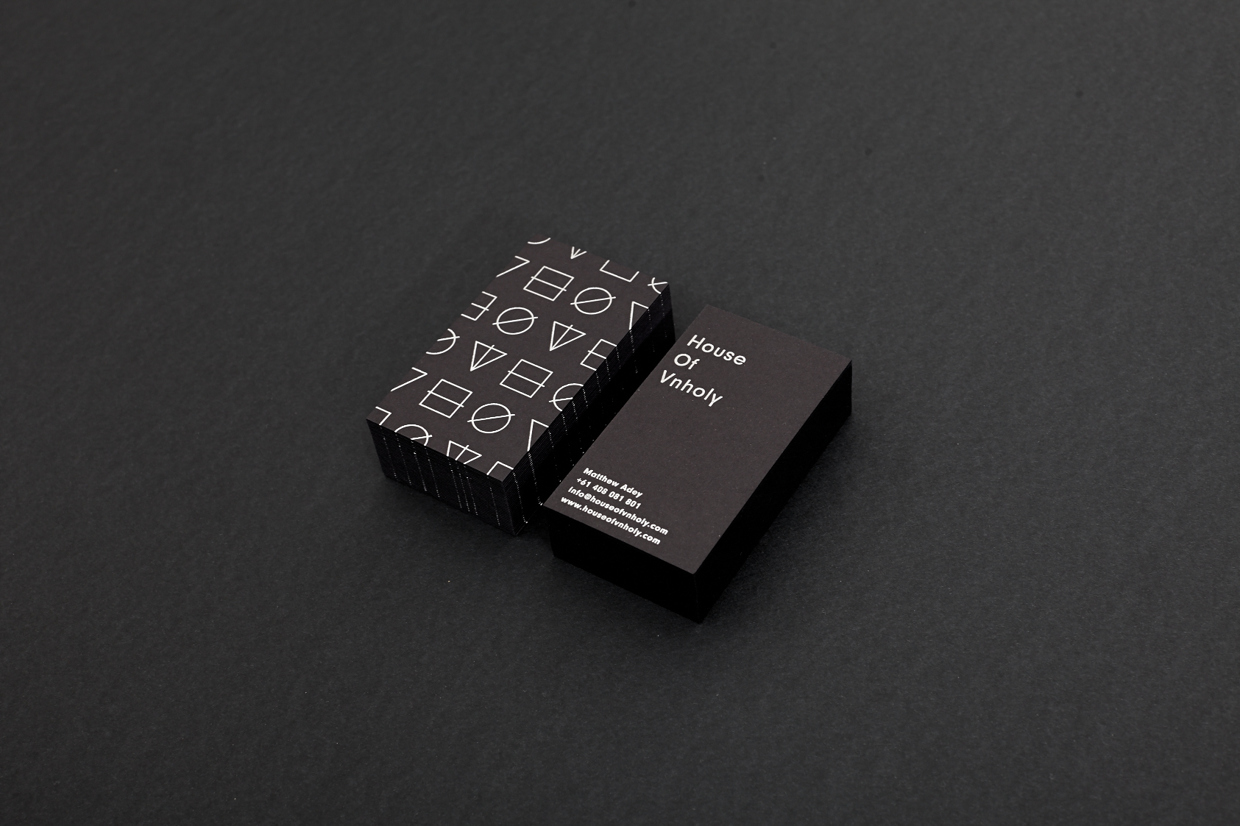 Cool Black Business Cards – Dollop Coffee | CardRabbit.com