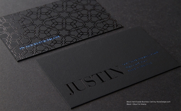 cool soft suede business card  u2013 justin