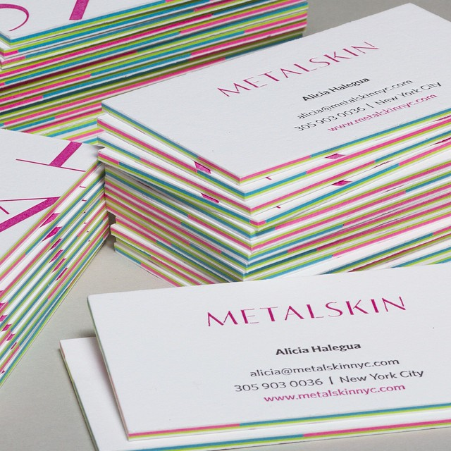 Creative layered letterpress business card metalskin cardrabbit creative layered letterpress business card metalskin colourmoves