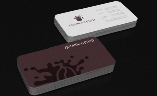 Custom Business Cards - Cooper & Ford