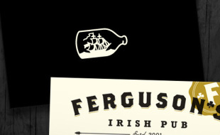 Custom Business Cards - Ferguson's Irish Pub