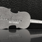 Unique Metal Business Card – Casey Causey