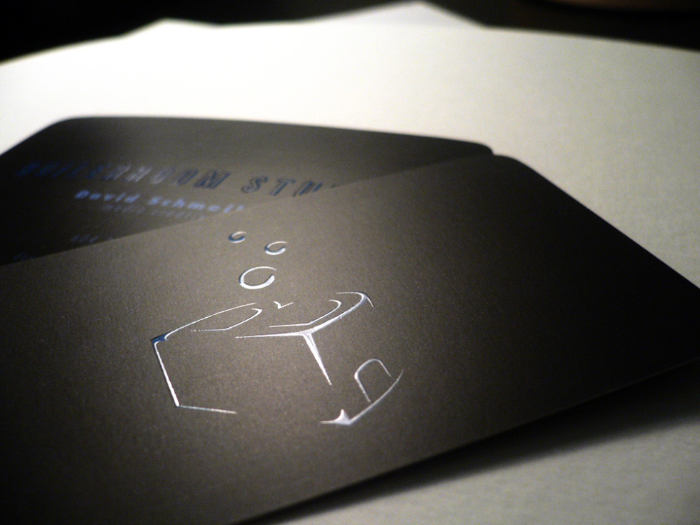 Cool Spot UV Business Card - Boilerroom Studios