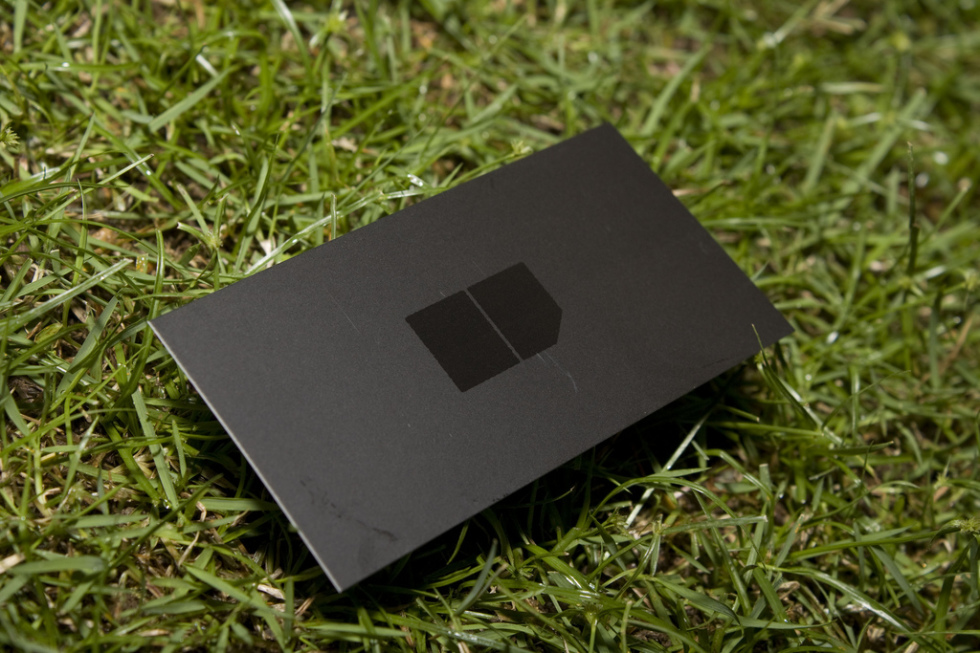 Cool Spot UV Business Card - James Loh
