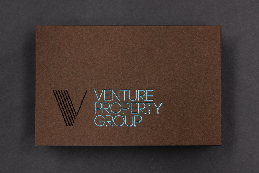 Custom Business Card – Venture Property Group