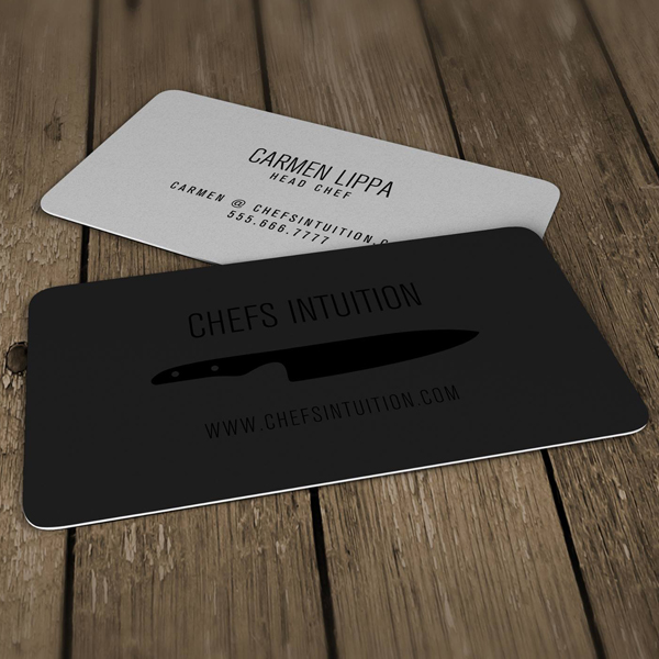Silk Laminated Spot Uv Business Card Carmen Lippa Cardrabbit