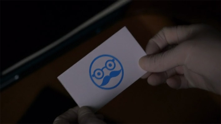 Unique Business Card From TV Series Elementary