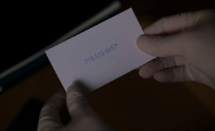 Unique Business Card From TV Series Elementary2