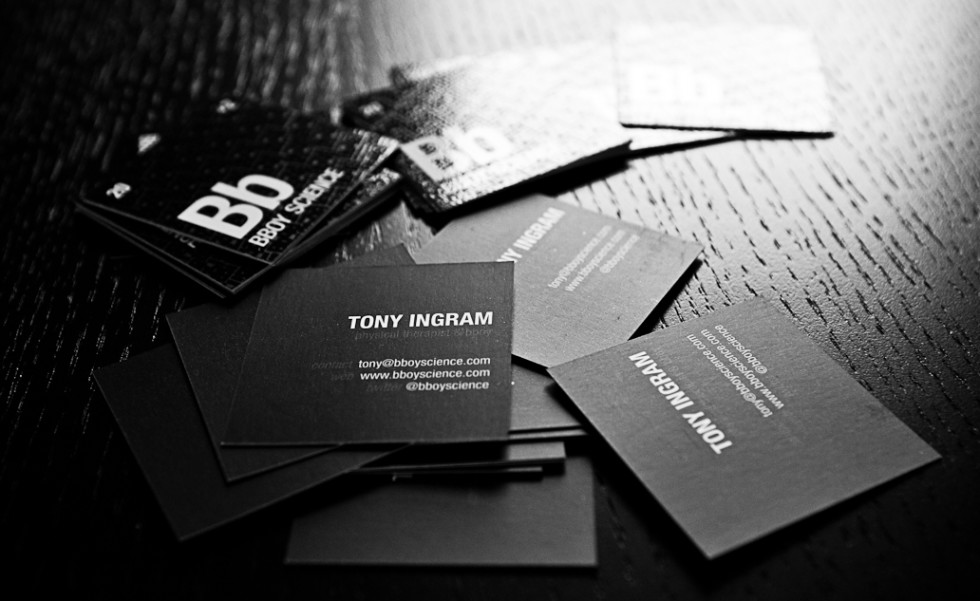 Cool Square Business Cards – Bboy Science | CardRabbit.com