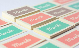 Colorful Business Cards - Meredo