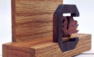 Cool Business Card Holder - Gamecock