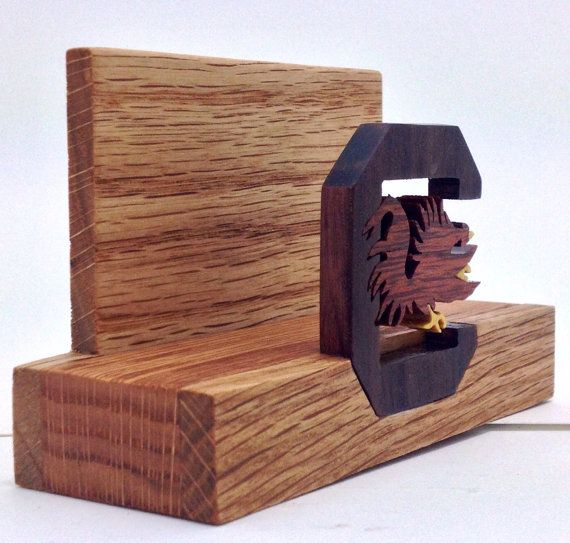 Unique wooden business card holder anne macaulay for Wood business card holder plans