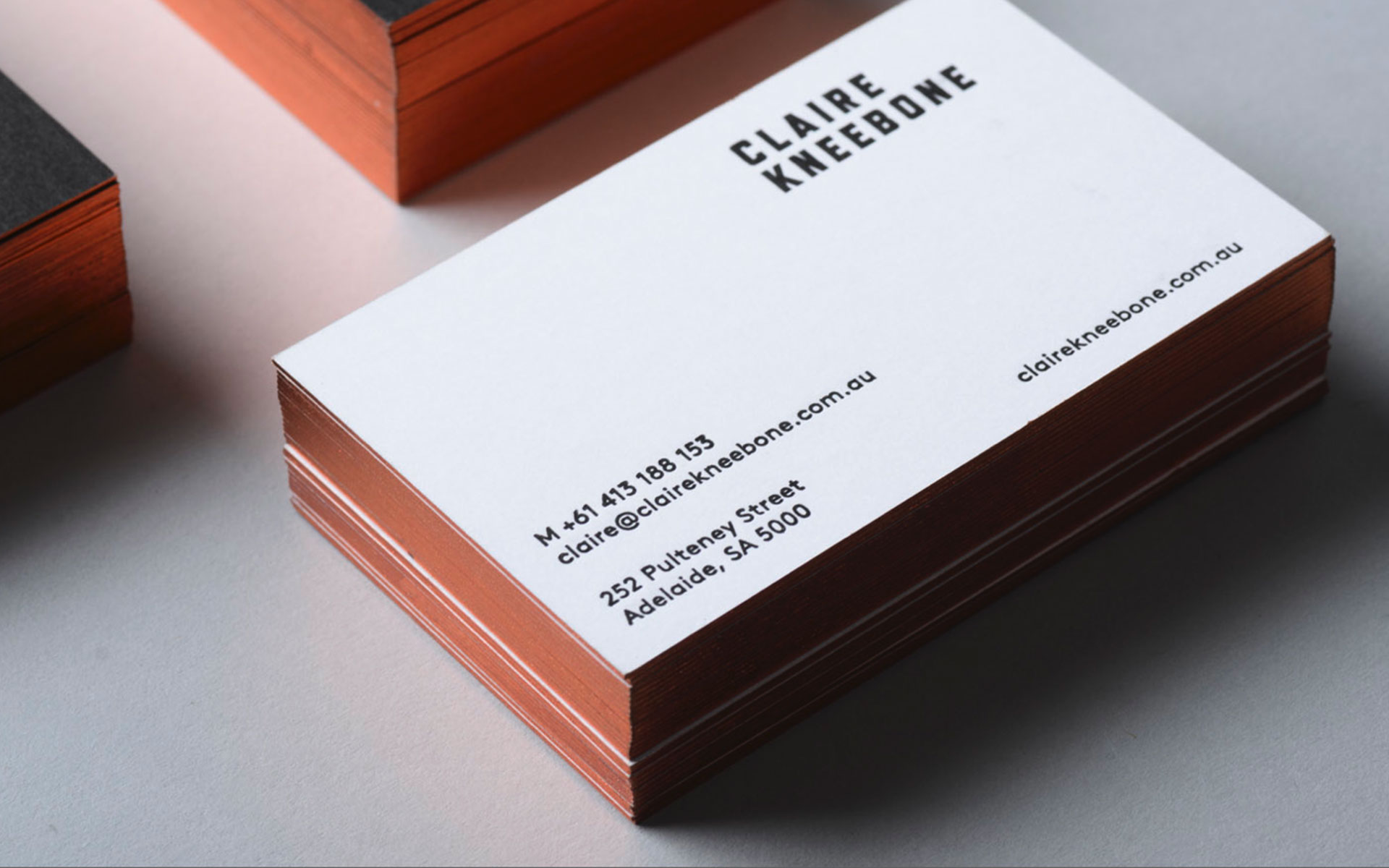 duplexed business cards – cardrabbit