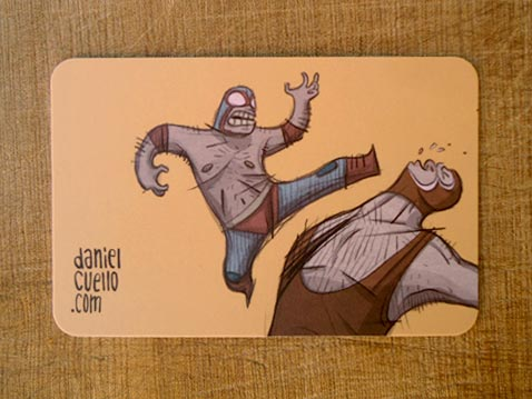 Creative Illustrated Business Cards - Daniel Cuello 5