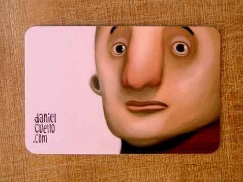 Creative Illustrated Business Cards - Daniel Cuello 7