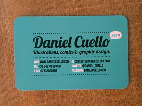 Creative Illustrated Business Cards - Daniel Cuello 8