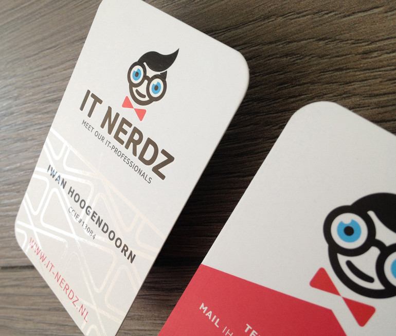 Custom Business Card - IT Nerdz