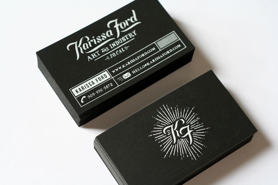 Custom Business Card – Karissa Ford