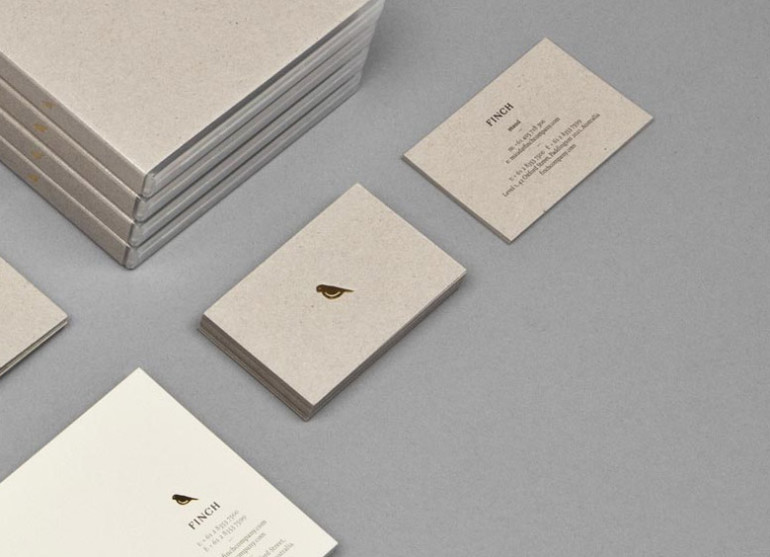 Minimalistic Business Card - Finch