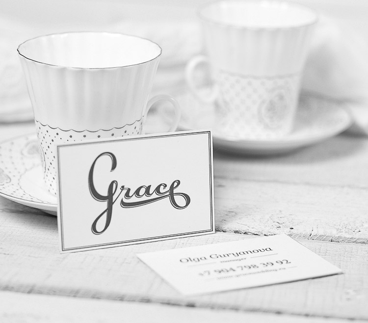 Minimalistic Custom Business Cards - Grace