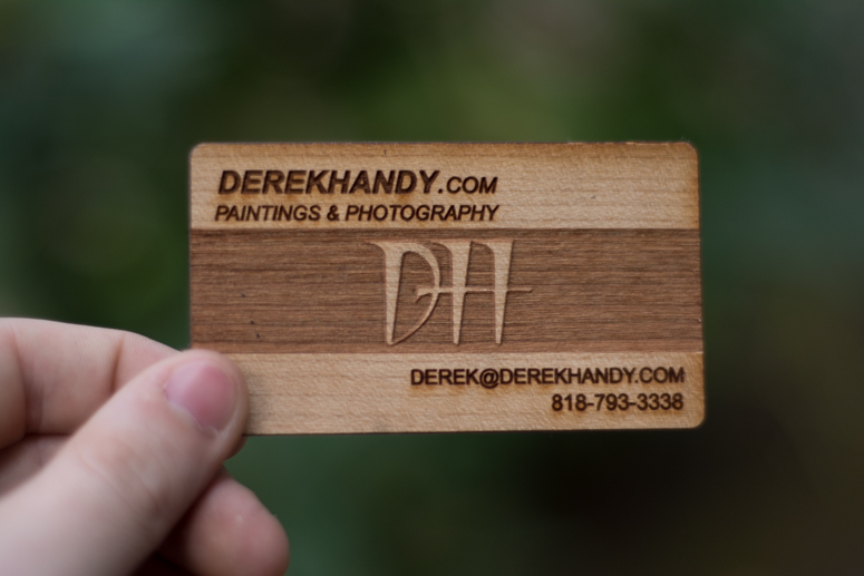 Multi tone laser engraved wood business card cardrabbit multi tone laser engraved wood business card colourmoves